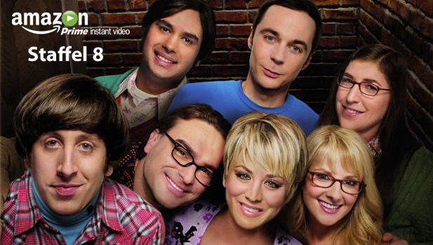 Big Bang Theory Staffel 8 Ab Dem 5 Januar Bei Amazon Prime