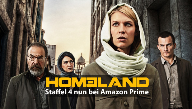Homeland Staffel 4 Nun Bei Amazon Prime Video Newsslashcom