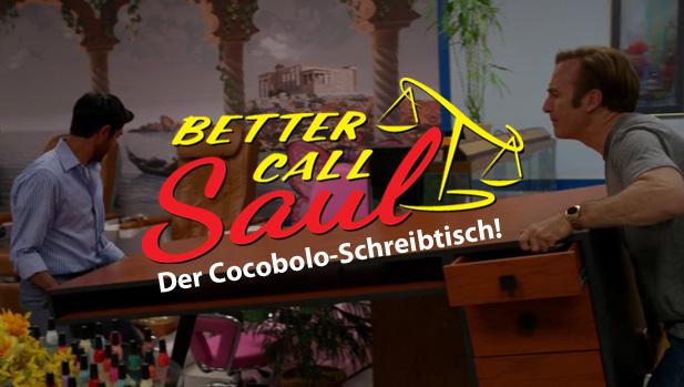 Better Call Saul Und Der Cocobolo Schreibtisch