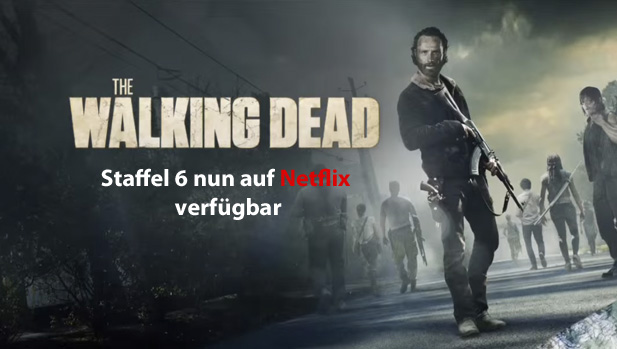 the walking dead staffel 6 auf deutsch bei netflix ab wann verf gbar. Black Bedroom Furniture Sets. Home Design Ideas
