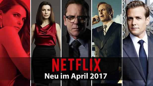 Netflix Neuerscheinungen April 2021