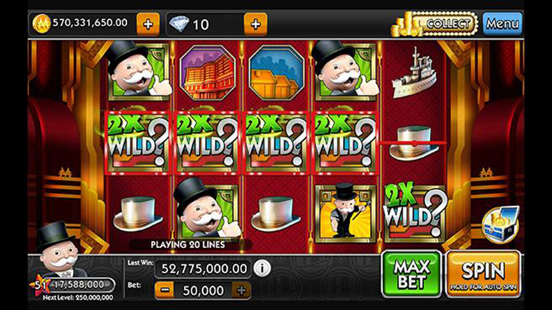 monopoly slots hack android