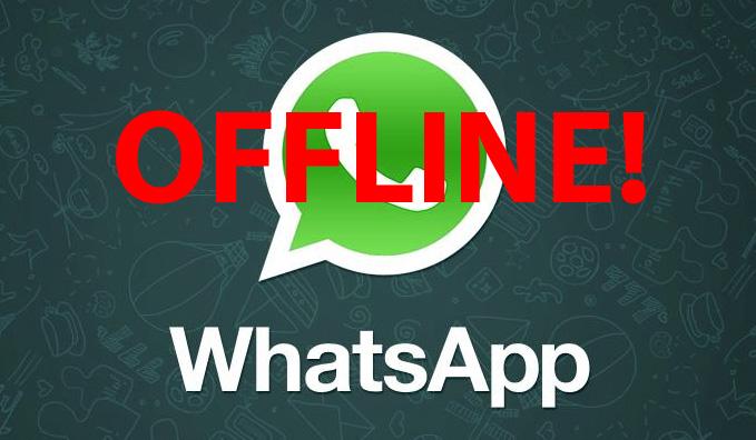 WhatsApp aktuell nicht verfügbar - Keine Verbindung zum